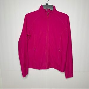 Lucy Tech Pink Active Zip Jacket Size Medium
